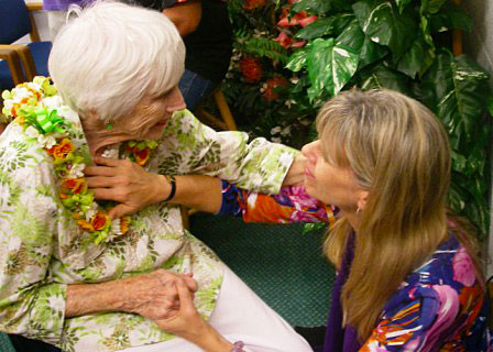Karinna and Mom Healing 1 - My Mom's Healing